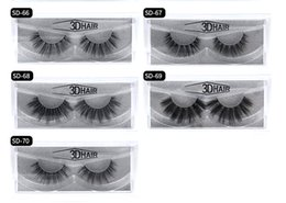 $enCountryForm.capitalKeyWord Australia - 11 styles Selling 1pair lot 100% Real Siberian 3D Mink Full Strip False Eyelash Long Individual Eyelashes Mink Lashes Extension Free Ship