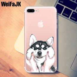 $enCountryForm.capitalKeyWord NZ - Case for iPhone 5s Cute Dog Cartoon Panda Adorkable Cover TPU Silicone Soft Case for iPhone 7 8 6 6s 5 Plus X Case 6320