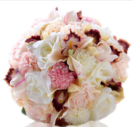 Roses dRied floweRs online shopping - Eternal angel new wedding products roses brides bouquet Christmas decorations gifts