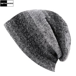 064dafb0d0e55  NORTHWOOD  2018 Mens Beanie Striped Knitted Hat For Women Skullies Beanies  Autumn And Winter Warm Gorro Bonnet Touca Muts