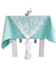 $enCountryForm.capitalKeyWord UK - Wedding Table Runners Chair Sashes Tablecloths Covers Festive Party Supplies Accessories Home Kitchen Decor Lace Trim 75*300cm