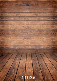 background paintings NZ - wooden door Wooden wall 5X7ft fotografica backdrops vinyl cloth photography backgrounds wedding children baby backdrop for photo studio 026