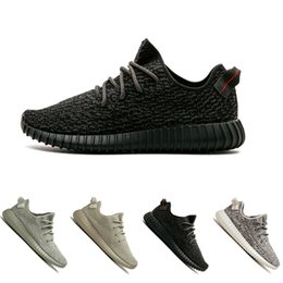fffe01d62 2018 Kanye West SPLY 350 V1 Moonrock Oxford Tan Pirate Black Turtle dove  Running Shoes women Men s Trainers Sports sneaker 36-45