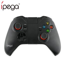 Xbox Controller Wireless For Pc NZ - IPEGA PG-9037 PG 9037 Wireless Gamepad Bluetooth Game Controller Adjustable Holder for Android  iOS Tablet PC Smartphone TV Box