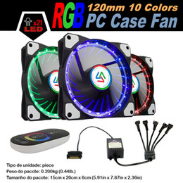 $enCountryForm.capitalKeyWord NZ - Wholesale- ALSEYE 120mm RGB fan cooler (1piece pack) 12V 1100RPM, LED RGB strips (2strips pack) 30cm, RGB controller 5channel touch remote