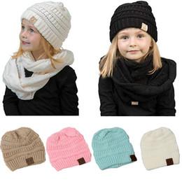 3f7d83a1400 Winter CC Beanies Hat Children Woolen Warm Knitted Slouchy Cap Boys  Skullies Beanie Hats for Girls Casual Baggy Hat Caps Outdoor