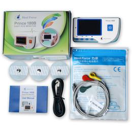 Heal Force Prince 180-B Easy Handheld Portable ЭКГ-монитор с 3-свинцовым ЭКГ-кабелем и пакетом электродов ЭКГ, программного обеспечения и USB-кабеля
