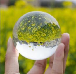 $enCountryForm.capitalKeyWord Australia - Hot Sell Magic Crystal Ball Hi-Q Sphere Quartz FengShui Glass Crystals Craft Fashion Table Decor Photography props Home Decors