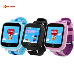 China Smart Safe GPS LBS WIFI Tracker Locator Kids Baby Anti-lost SOS Call Remote Monitor Alarm Clock GSM Smartwatch Watch Wristwatch suppliers