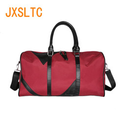 Discount ladies cloth handbags - Jxsltc New Men Oxford Cloth Travel Bag Handbag Lady Bag Multi-function Large Portable Business Shoulder Yoga Weekend F85