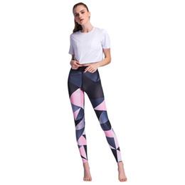 Black Blocks Canada - 2019 New Fashion Sexy Autumn Winter Women Pants Color Block High Waist Fitness Casual Warm Workout Skinny Leggings Black