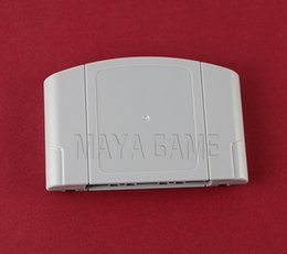 Discount plastic cartridge cases Replacement Game Card Shell for N64 Game Cartridge Cover Plastic Case