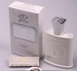 Vente en gros Parfum de l'eau chaude de haute qualité de Creed Silver Mountain pour les hommes avec le parfum élevé durable Bonne qualité 120ml