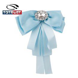 $enCountryForm.capitalKeyWord UK - Elegant Diamond Bowknot Necktie Women Girl Women Bow Tie Vintage British Bowtie Wedding Party Neck Wear Bowtie Shirt Accessories