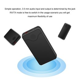 China B18 Bluetooth Transmitter Receiver Wireless Stereo Audio Receiver Music Adapter Support AUX Out For Mobile Phones Laptop car supplier laptop bluetooth adapter suppliers