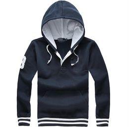 Polo hoodies online shopping - brand Men s polo Hoodies and Sweatshirts cotton big horse men s hoodies Jackets Drop shipping