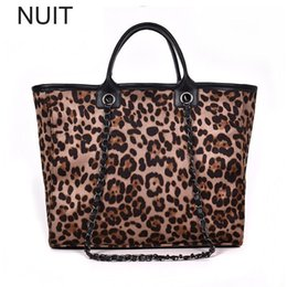 leopard fashion designer lady handbag 2019 - Women's Designer Handbag Chain Fashion High Quality Leopard PU Leather Women Bag Lady Brand Ladies Shoulder Messeng