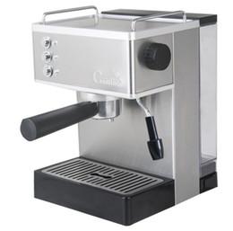 Bar Books Australia - Semi-automatic household stainless steel 19 bar high pressure steam milk bubble coffee espresso book machine java commercial LLFA