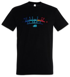 $enCountryForm.capitalKeyWord UK - DB Meter II T-Shirt Decibel Music Bass Retro Radio Cassette Tape Record Vinyl Cool Casual pride t shirt men Unisex