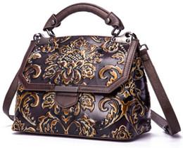 usa tie 2019 - classical emboss shoulder bag wholesale bride wedding metal handmade bags cross body luxury handbag tote women purse CA