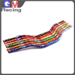"11 8"" FAT BARS 28MM COLOR HANDLEBARS HANDLE BARS For YAMAHA CRF YZF WR KXF KLX RMZ XC SXF EXC on Sale"