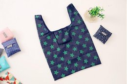 $enCountryForm.capitalKeyWord NZ - Foldable shopping bag portable supermarket shopping large Oxford cloth handbags custom promotional printing LOGO green shopping bags