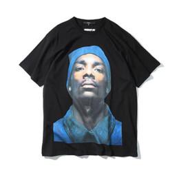 $enCountryForm.capitalKeyWord Australia - New Hot sales Black Snoop Dogg Dog Men t shirt hip hop Short Sleeve Kanye West T-shirts High Street Men tee shirt