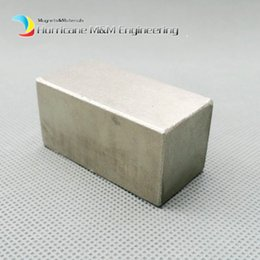"""$enCountryForm.capitalKeyWord Canada - 1 pack SmCo Magnet Large Block 50x25x25 mm 2"""" YXG24H 350 Degree C High Temperature Motor Magnet Permanent Rare Earth Magnets"""