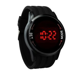 Mens rubber touch led watch online shopping - Life Waterproof Digital Watches Mens Silicone Strap LED Touch Screen Wrist Watch Men s Rubber Sports Clock Relogio Masculino