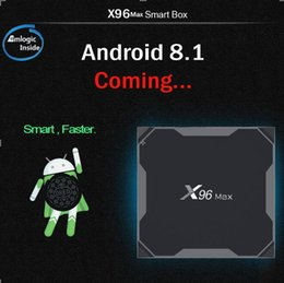 new arrival android tv box 2019 - New arrival X96 max Android 8.1 TV BOX Amlogic S905X2 Quad-core 4GB 32GB 4K H.265 2.4G 5GWIFI&Bluetooth smart box