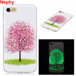 Silicon Case For Iphone 5c Australia - Phone Case For iPhone X 8 7 6 5 s c 5C SE 5s 6s Plus 6Plus 7Plus 8Plus Noctilucent Shine Cover Silicon TPU Casing Housing