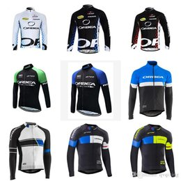 Discount orbea bike cycling long - NEW ORBEA team Cycling long Sleeves jersey New arrivals bike clothes Multiple Choices Simple Summer Men bicycle cycling