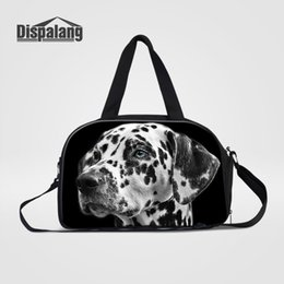 31e52446f1b2 Dispalang Travel Bags Cute Dog Hand Luggage Large Travel Duffle Bags Large  Capacity Handbag Multifunctional Business Trip