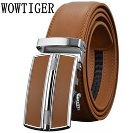 $enCountryForm.capitalKeyWord NZ - Men's Belts Luxury Automatic Buckle Genune Leather Strap Black Brown for Men 2017 Mens Belt Designers Brand High Quality D18102905