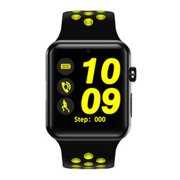 Sim Card Smart Watch Sony Australia - Smart Watch Connect with Camera SIM Card Series 2 Men Women SmartWatch for iOS Sony 3 Android Phone Watch