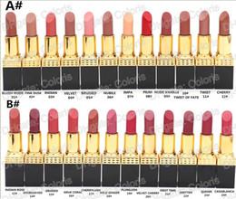 Lipstick Lasts Australia - Makeup Long Lasting Amplifed Lipstick Moisturizer Nutritious Luxurious Lipstick Popular Color Lip Color Rouge A Levres 12Pcs