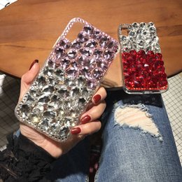 $enCountryForm.capitalKeyWord NZ - wholesale Cases for iPhone X XS MAX XR 5 5C 6 7 8 Plus Case Luxury Cover 3D Bling Rhinestone Case Cover Accessories