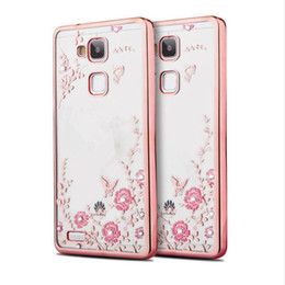 $enCountryForm.capitalKeyWord UK - Luxury Diamond Secret Garden Flower Clear Plating TPU Case For Huawei P8 P9 P10 P20 Lite Pro Plus P Smart Enjoy 7S Honor 7C NOVA 2 Plus