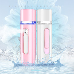 Portable Steamers Australia - New Mini Facial Steamer Nano Mister USB Rechargeable Face Sprayer Power Bank Portable Skin Care Tools 4 Colors