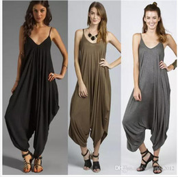 $enCountryForm.capitalKeyWord NZ - New Hot sale summer style women jumpsuit Hip-Hop Harem Pants for female romper overalls comfortable macacao sexy jumpsuit