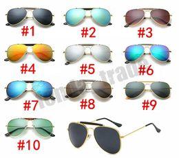 f433ba0e8 38% de DESCONTO NOVA Armação de Metal lente Resina Marca Designer homens  mulheres praia condução óculos de Sol UV400 Preço de Fábrica Do Vintage  estilos ...