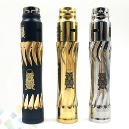 Discount mods controller - Controller Takeover Kit Complyfe 24mm Engraved Version Hybrid Mechanical Mod Vaporizer Ecig Kit fit 18650 Battery DHL fr