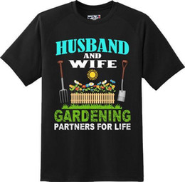 3737f798df Husband And Wife Gardening Partners For Life T Shirt New Graphic Tee