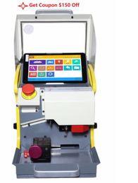 $enCountryForm.capitalKeyWord Australia - High Quality 8.3 Inch automatic key cutting machine SEC-E9 portable smart duplicate car key cutting machine SEC E9 Multi-Language