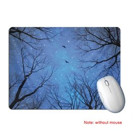 29b43e3a934 Gaming Mouse Pad Rubber Landscape Printed Anti Slip Mice Mat Mousepad for  Home Office EM88