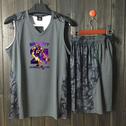 Number Blocks Australia - Basketball suit men's basketball Jersey set to buy the block print number