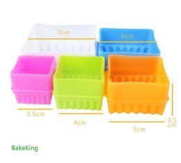 $enCountryForm.capitalKeyWord Australia - Colorful 5pcs set cookie cutter square wavy shape plastic