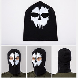 00160ac81f9 Full Face Mask Bicycle Cycling Ski Outdoor Skull Balaclava Warm Windproof  Biking Riding Snowboard Skating Winter Mask F18