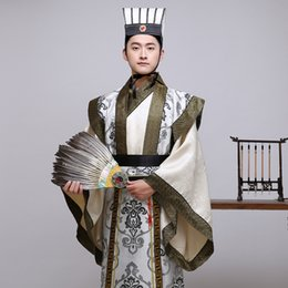 $enCountryForm.capitalKeyWord NZ - 2018The New Chinese Man Han Clothing Emperor Prince Show Cosplay Suit Robe Costume Minister traditional Ancient costume
