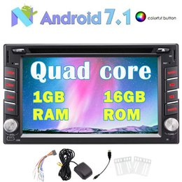 Chinese  Eincar 6.2''Android 7.1 Quad Core Car Electronics Stereo 2 Din In Dash Bluetooth car DVD CD Player GPS Navigation Radio 1GB+16GB manufacturers